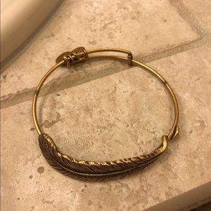 Alex & Ani Feather Adjustable Bracelet